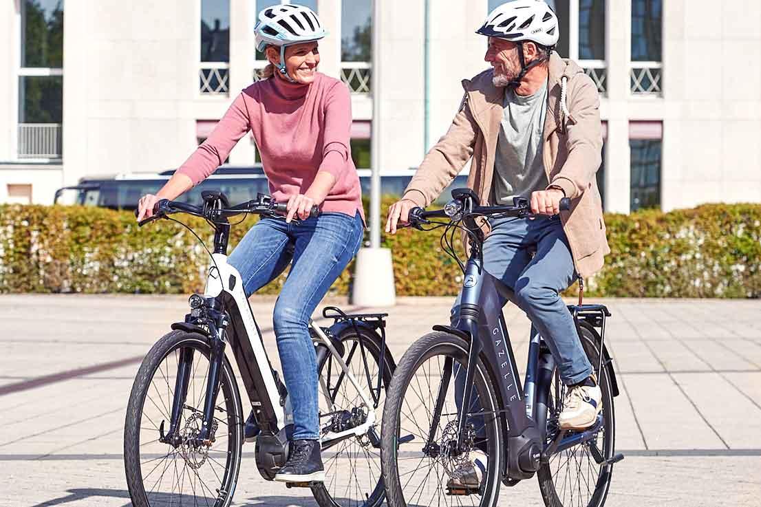 E-Bike-Paar